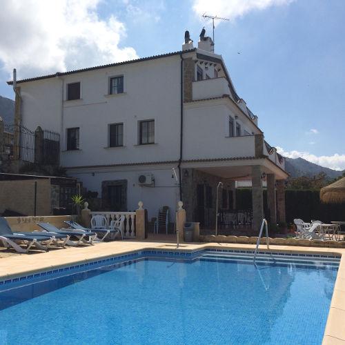 Writing Retreat Spain The Pool