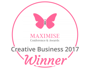 MAXIMISE AWARD BADGE - Creative Business Winner (1)